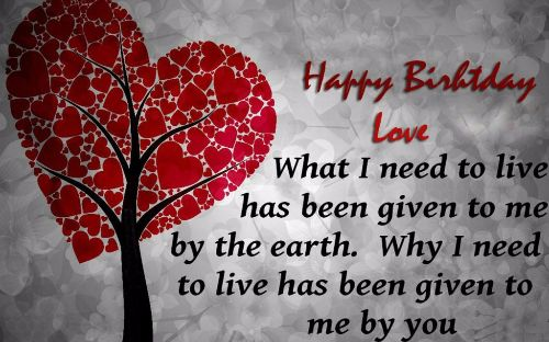 Popular Birthday Wishes With Love