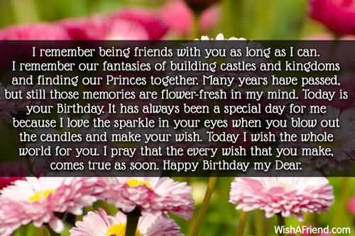 Popular Happy Birthday Quotes And Wishes Greetings
