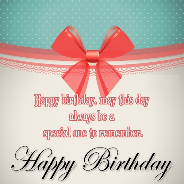 Popular Happy Birthday Wishes E-Card
