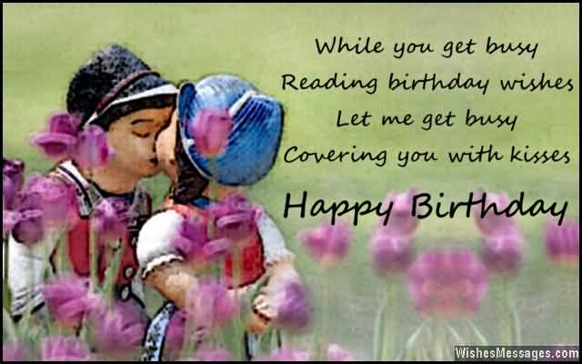 Romantic Birthday Happy Wishes For Lover