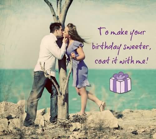 Romantic Kiss Birthday E-Card Greetings