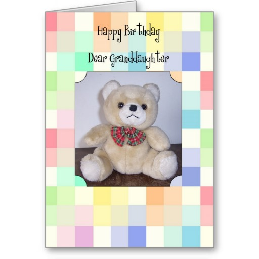 Small Teddy Happy Birthday Wishes