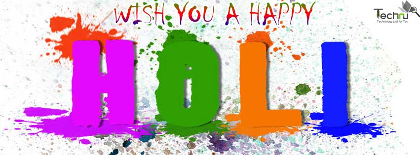 Sweet Happy Holi Wish