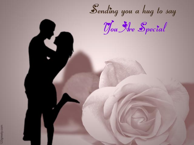 Sweet Hug Day Wish