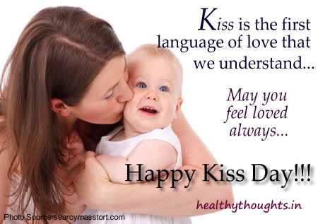 Sweet Kiss Day Wish