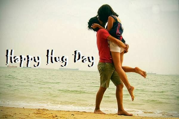 Terrific Hug Day Wish