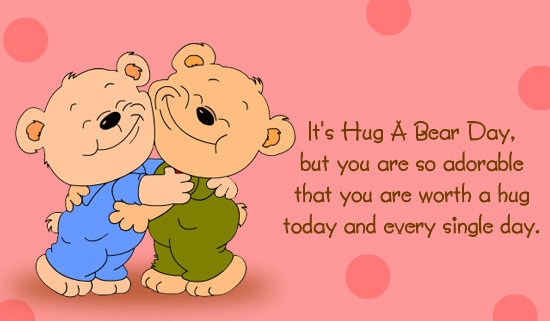 Ultimate Hug Day Wish