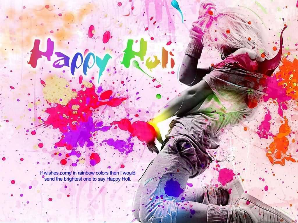 Unique Holi Wishes
