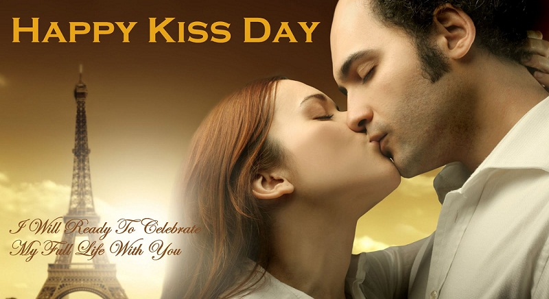 Unique Kiss Day Wishes