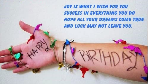 great Happy Birthday Wishes With Joyful Message