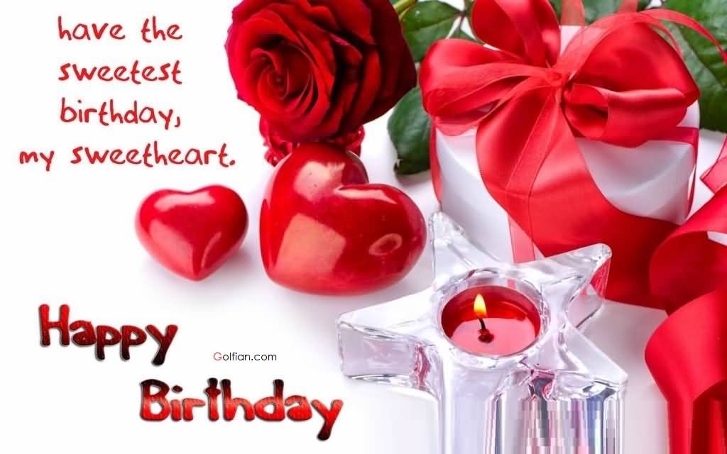 Beautiful E-Card Romantic Happy Birthday Wishes