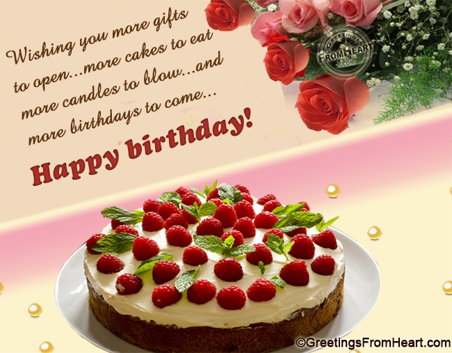 Best Cake Happy Birthday Cake Wishes With Message