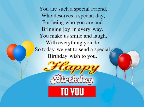 Happy Birthday Quotes Message To Friend