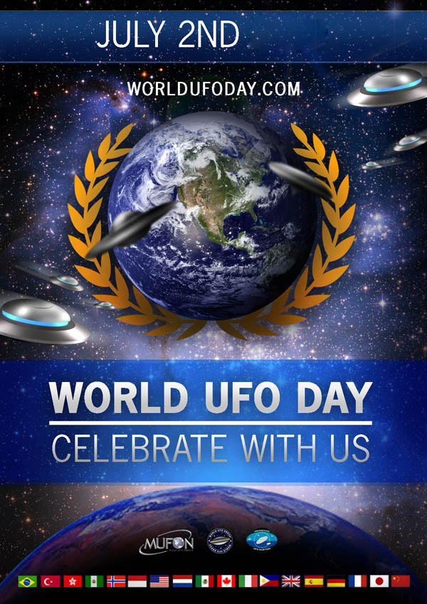 July 2 World UFO Day Image