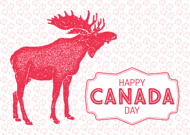 Latest E-Card Happy Canada Day HD Wallpaper