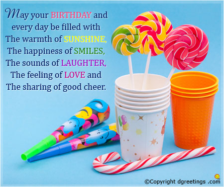 Lovely Message Birthday Wishes