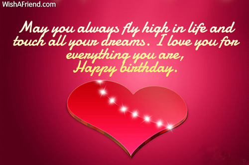 Lovely Message Romantic Happy Birthday Wishes