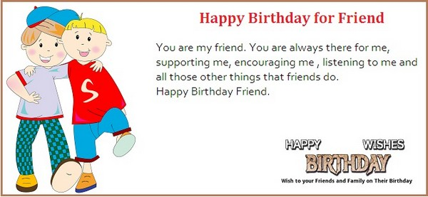 Nice E-Card Happy Birthday Wishes For Friend