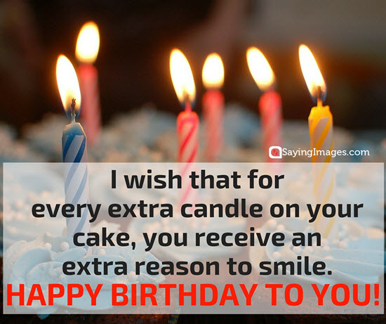 Nice Happy Birthday Wishes Quotes