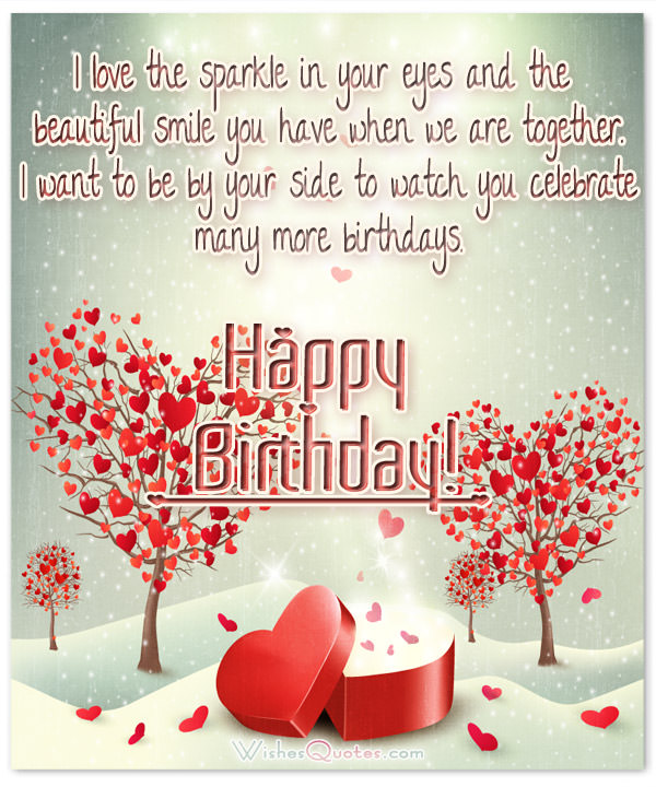 Nice & Romantic Happy Birthday Wishes