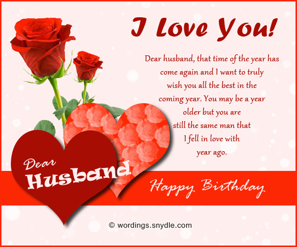 Romantic Happy Birthday Wishes To Dear Husband
