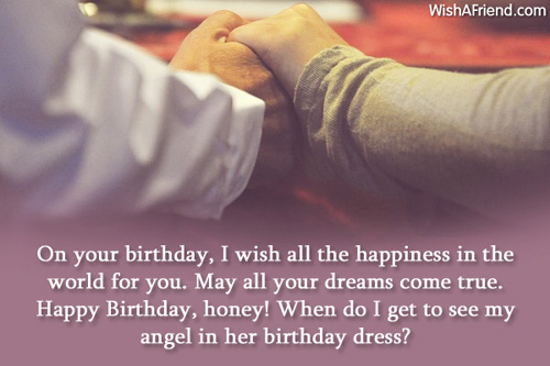 Romantic Happy Birthday Wishes To My Angel Darling