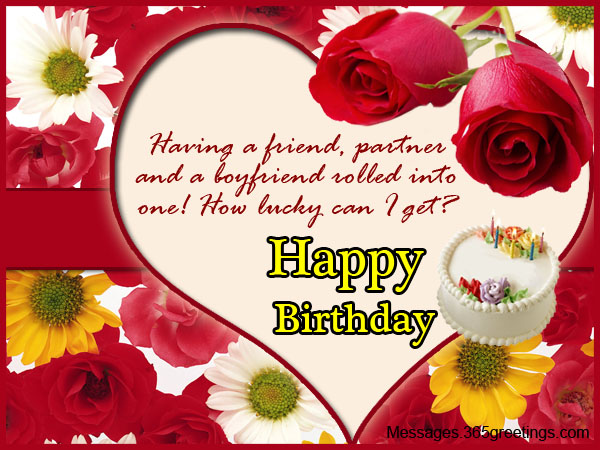 Romantic Happy Birthday Wishes To My Friend & Partner