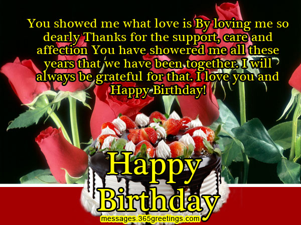 Romantic Happy Birthday Wishes To My Love (2)
