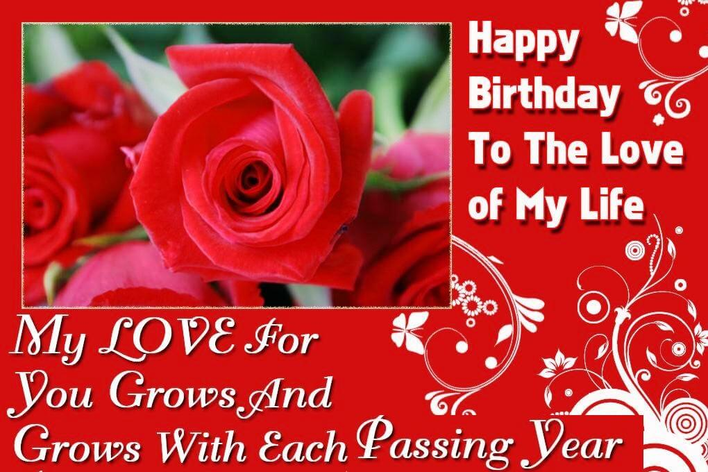 Romantic Happy Birthday Wishes With Nice Message