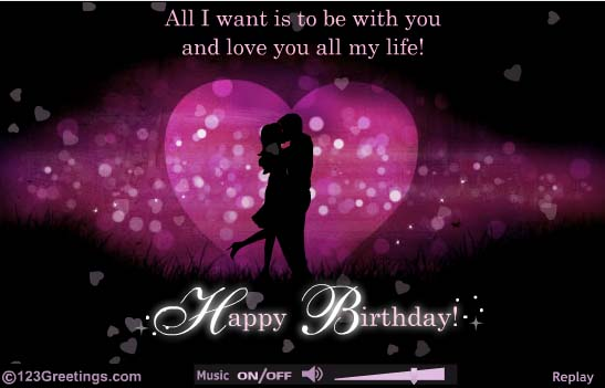53 romantic birthday wishes greetings to my love nicewishes short and romantic birthday wishes bookmarktalkfo Images