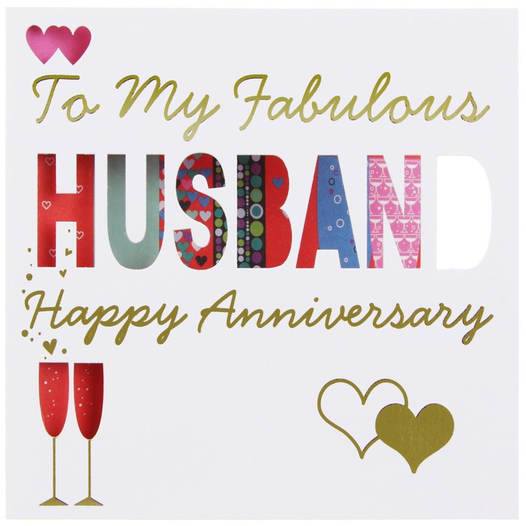 Anniersary Wishes For Fabulous Husband