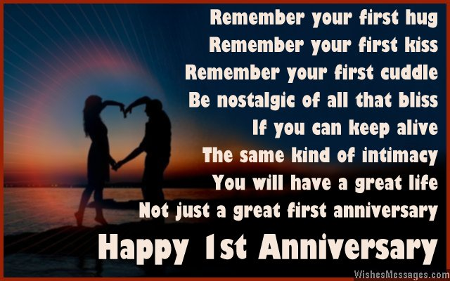 Anniversary Card Wishes And Poems For Couple