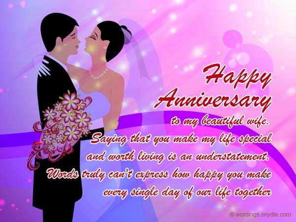 Best greetings anniversary wishes for wife nicewishes