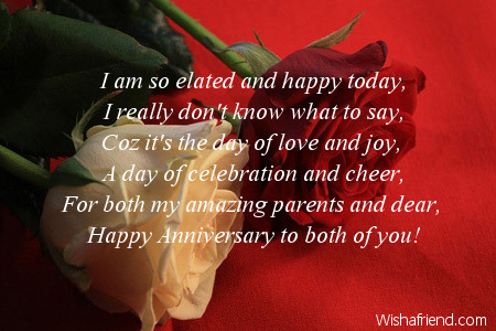 Anniversary Message And Sayings For Dear Parents