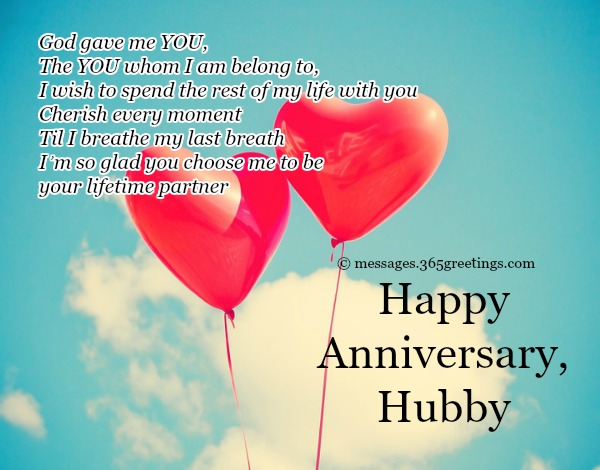 Anniversary Messages For Husband With Lovely Quote
