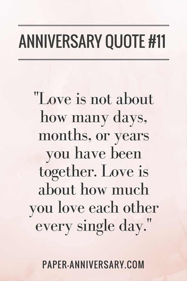 Anniversary Quote For Tremendous Love For Eachother