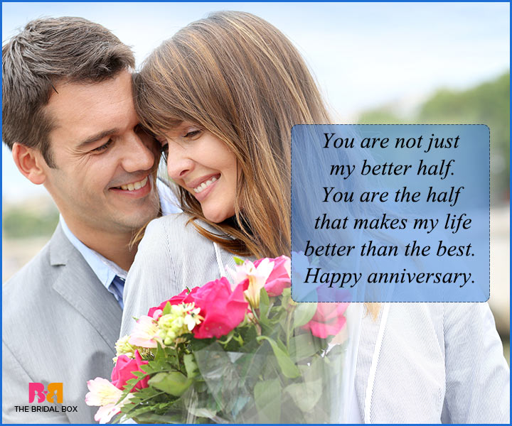 Anniversary Quotes For Husband With Lovely Message