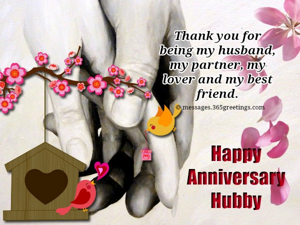 Anniversary Wishes And Greetings With Quotes For Hubby