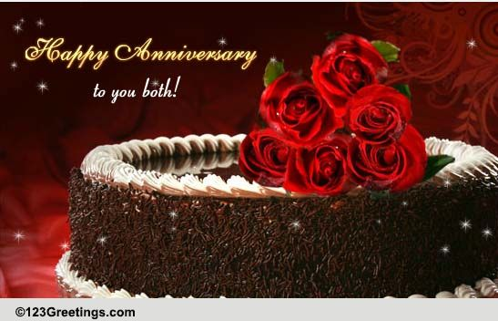 Anniversary Wishes For Both