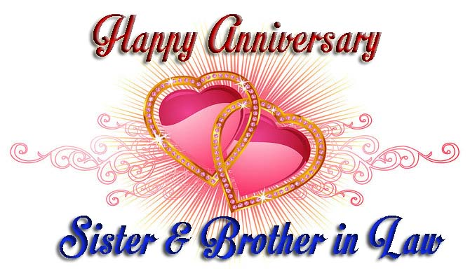 Anniversary Wishes For Brother & Sister In Law