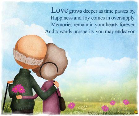 Anniversary wishes for grandparents with love and joy nicewishes