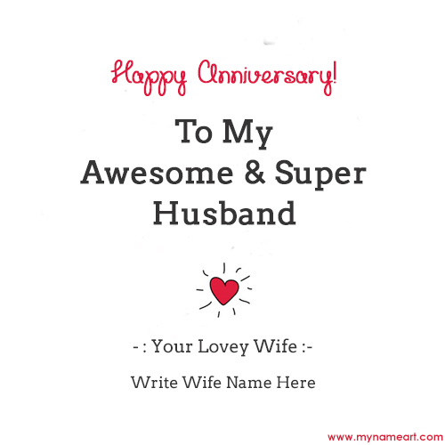 Anniversary Wishes For Lovely Husband