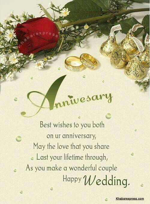 Anniversary Wishes For Wonderful Couple