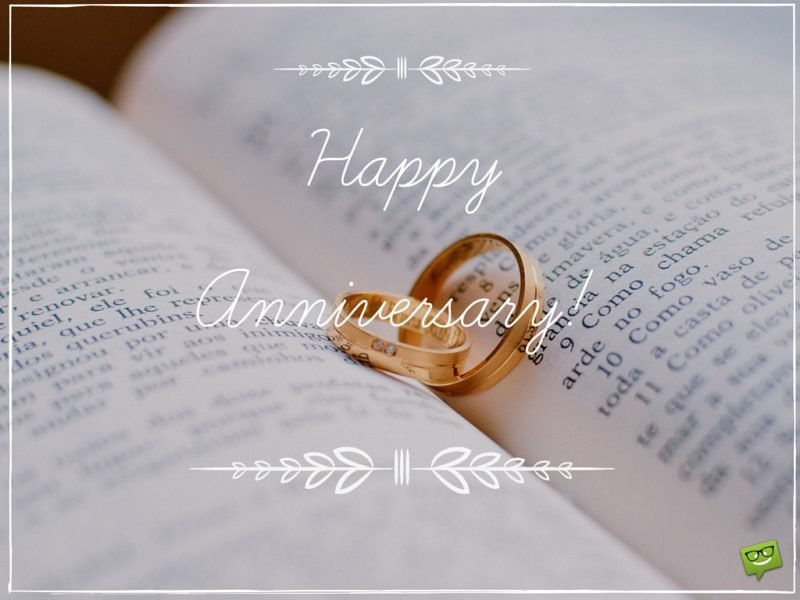 Anniversary Wishes Greeting Card