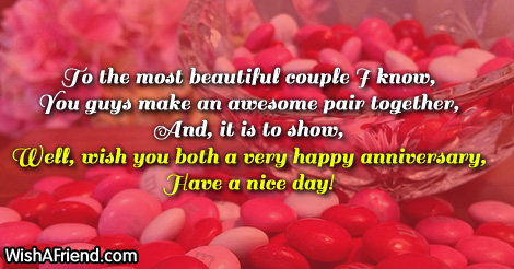 Anniversary Wishes With Blessings