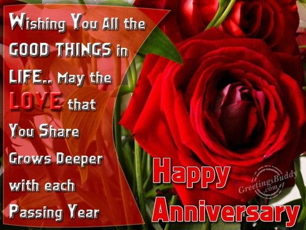 Anniversary Wishes With Love