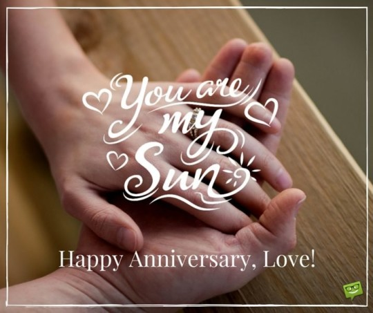 Awesome Anniversary Greeting Card With Love