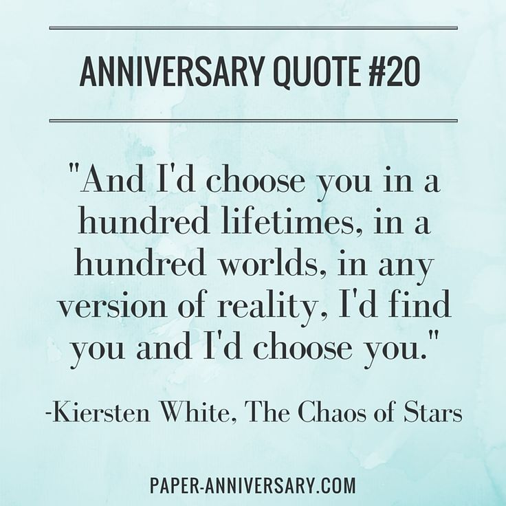 Best Anniversary Quotes For Him