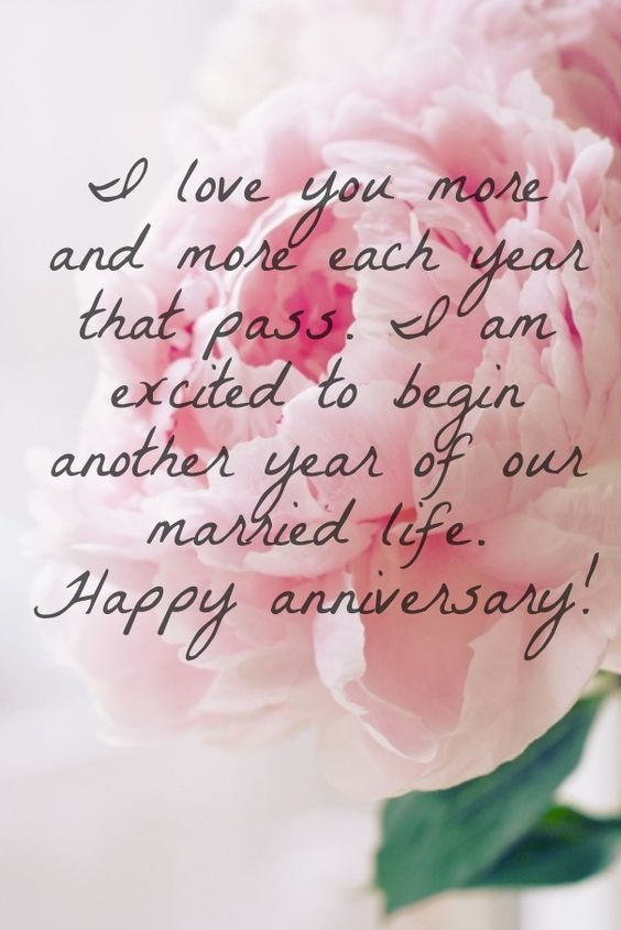Cute Wedding Anniversary Quote
