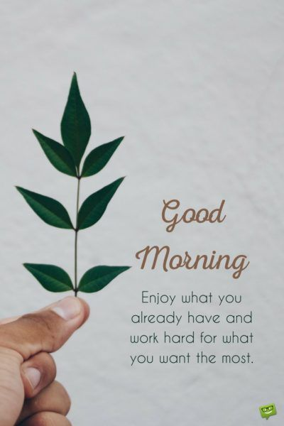 Good Morning Greetings With Quotes